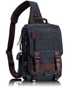 Leaper Cross Body Messenger Bag Shoulder Backpack Travel