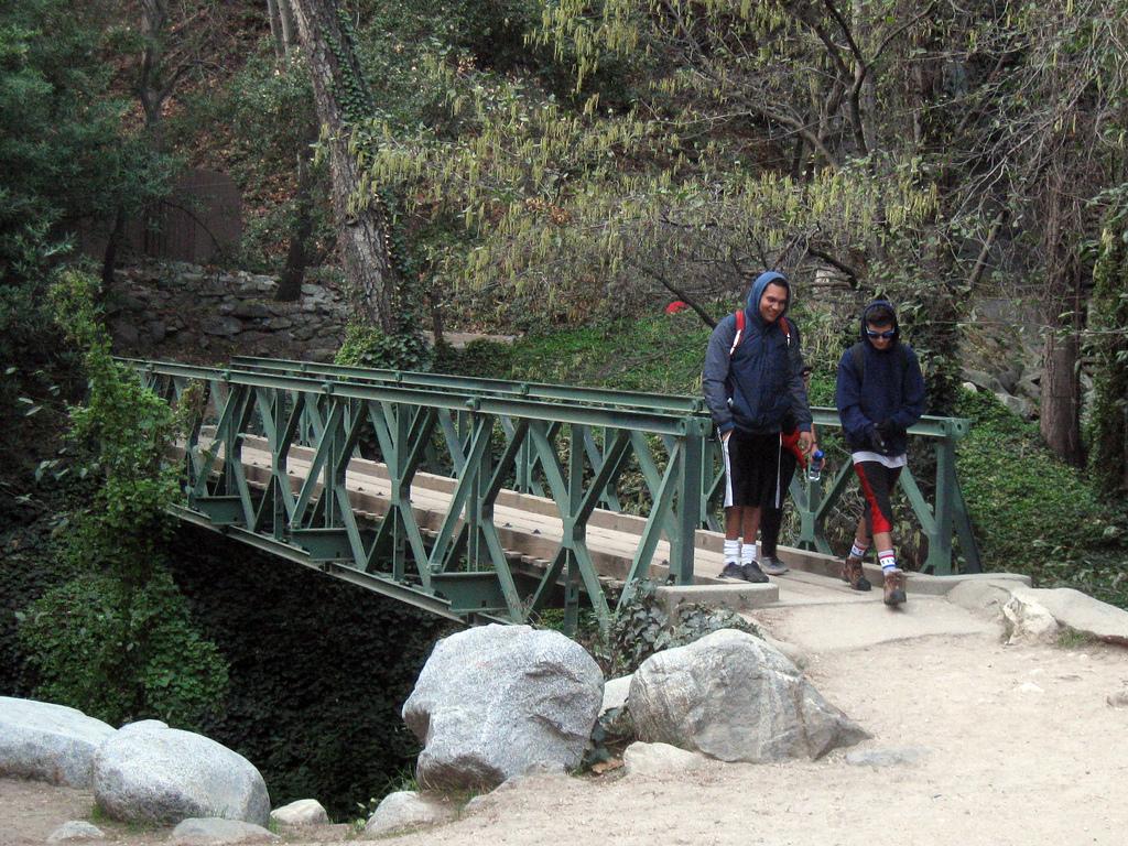 The Santa Anita Canyon photo