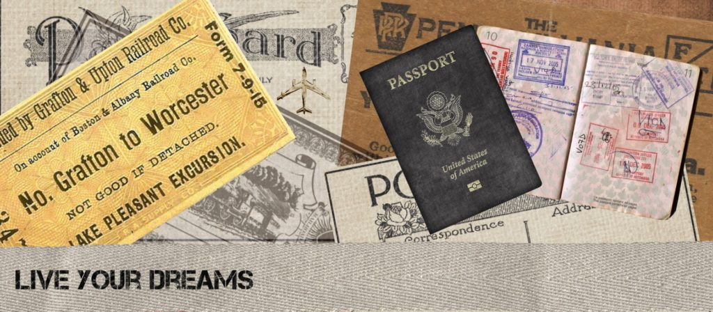 Pack a Folder for your Travel Documents