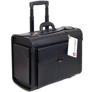Alpine Swiss Rolling Laptop Briefcase
