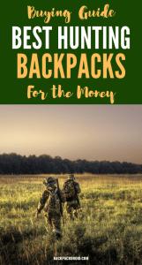 Best Hunting Backpacks for the Money